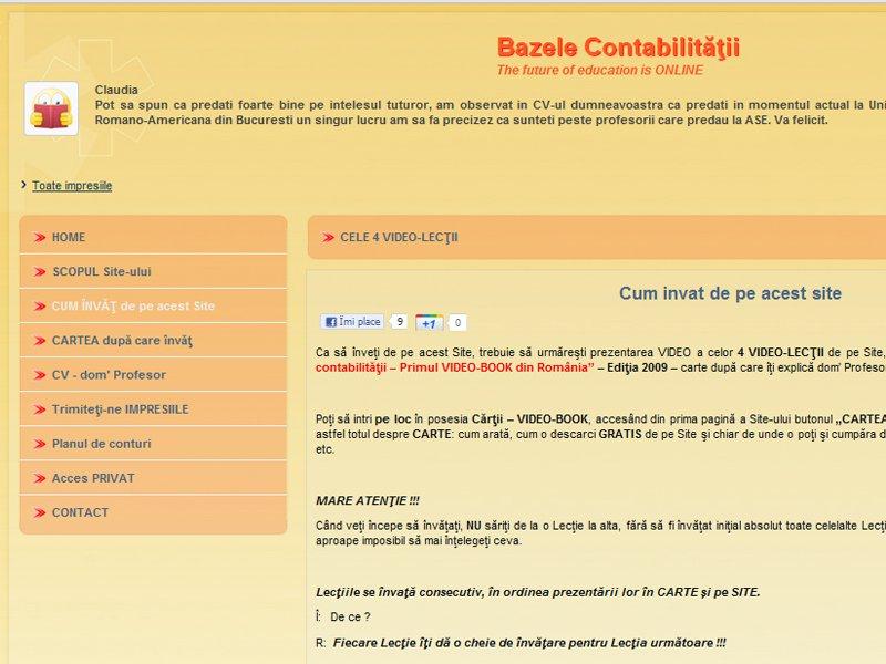 Bazelecontabilitatii.ro